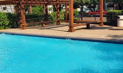 Pool, Ridgeway Apartments, 2