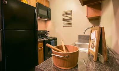 Kitchen, Solon Club Apartments, 0