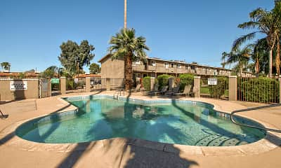 Pool, Camelback Courtyard, 0
