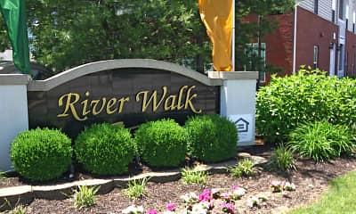 Community Signage, River Walk, 1