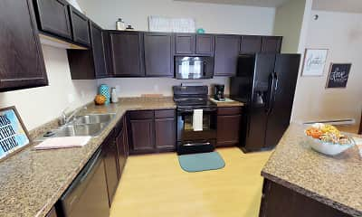 Kitchen, Stonebridge Townhomes and Villas, 1