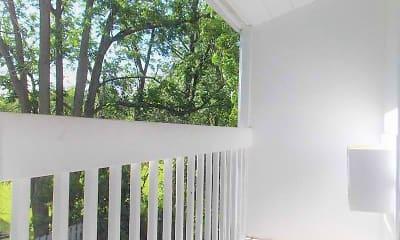 Patio / Deck, Cedar Green Apartments, 1