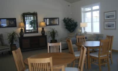 Dining Room, Highland Springs Apartments, 2