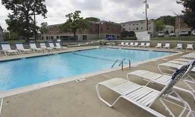 Pool, Loudon Arms Apartments, 0