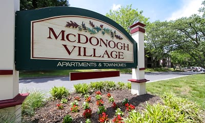 Community Signage, McDonogh Village Apartments & Townhomes, 2