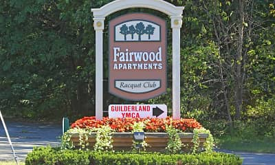 Community Signage, Fairwood Apartments, 2