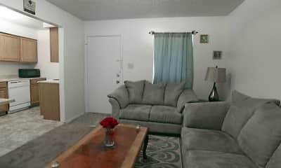 Living Room, Regency Arms & Poplar Place, 0