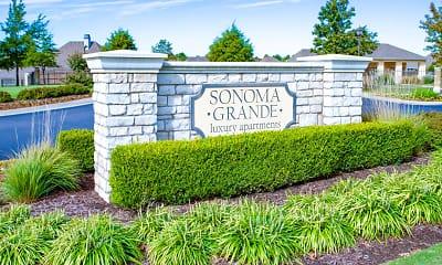 Community Signage, Sonoma Grande, 0