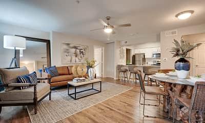 Living Room, Knox at Allen Station, 1
