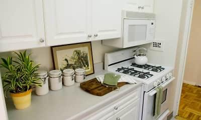 Kitchen, eaves Glover Park, 1