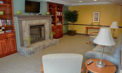 Living Room, Rittenberg Manor- A 62+ Community, 2