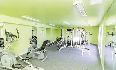 Fitness Weight Room, PROSPER Riverdale, 2