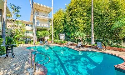 Pool, Sunset Barrington Gardens, 1