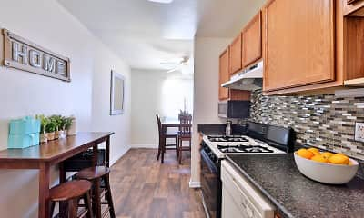 Kitchen, Cedar Creek Apartment Homes, 0