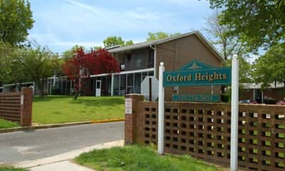 Community Signage, Oxford Heights Apartments, 0