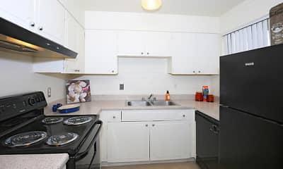 Kitchen, Parkside Apartment Homes, 0