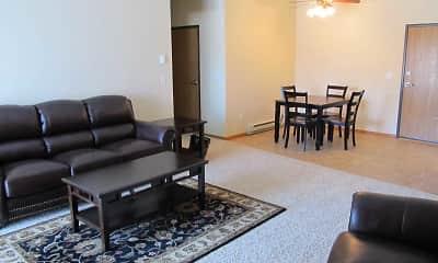 Living Room, Bison Crossing, 0