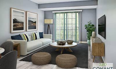 Living Room, 240 Conant, 1