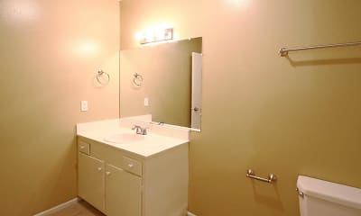 Bathroom, Anaheim Cottages, 2
