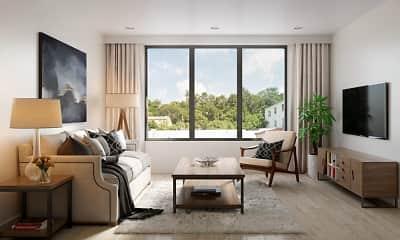 Living Room, 6300 City Avenue, 2