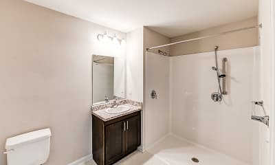 Bathroom, Glenwood Ridge Apartments, 2