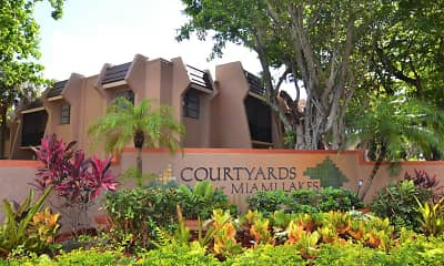 Community Signage, Courtyards At Miami Lakes, 2