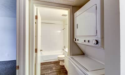 Bathroom, Northcrest Garden Apartments, 2