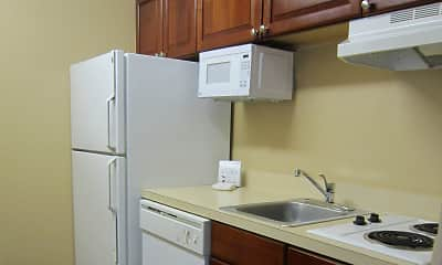 Kitchen, Furnished Studio - Phoenix - Airport - E. Oak St., 1