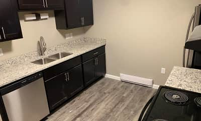 Kitchen, Andover Apartments, 2