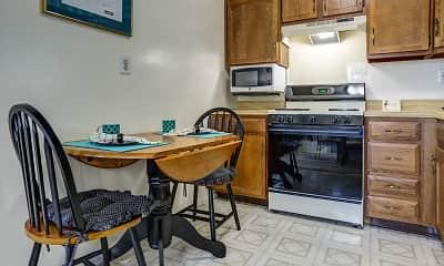 Kitchen, Montclair Duplex Apartments, 1