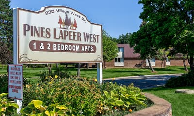 Community Signage, Pines Lapeer West, 0