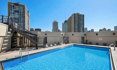Pool, 1120 N Lasalle, 1