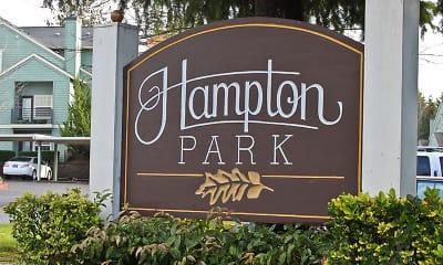 Community Signage, Hampton Park, 0