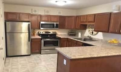 Kitchen, Eden Park Senior Apartments, 1