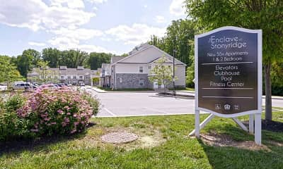 Community Signage, The Enclave at Stoney Ridge, 0