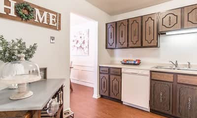 Kitchen, The Landings of Fountain Pointe, 1