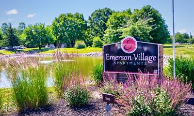 Community Signage, Emerson Village Apartments, 2