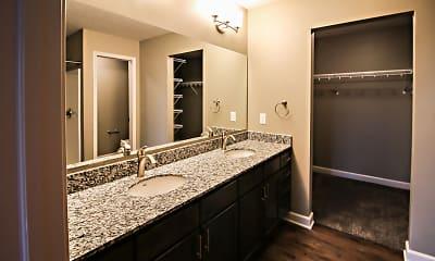 Bathroom, Summit Falls Apartments &Townhomes, 2