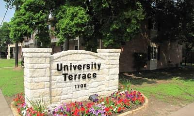 Community Signage, University Terrace Apartments, 0