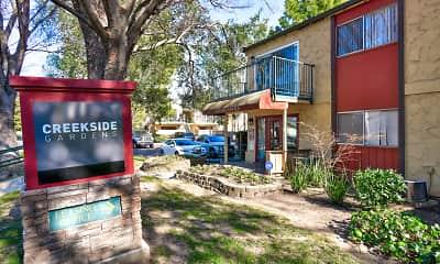 Community Signage, Creekside Gardens Apartments, 0