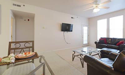 Living Room, Canyon Court, 1