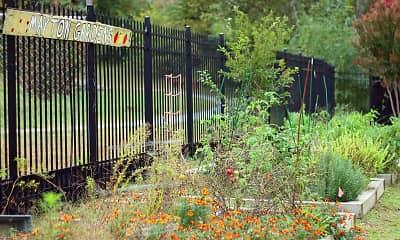 Landscaping, Mayton Transfer Lofts, 2