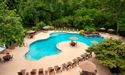 Pool, Rivercrest Apartments, 0