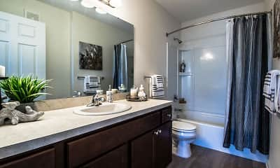 Bathroom, Killian Lakes Apartments & Townhomes, 1