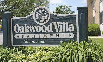 Community Signage, Oakwood Villa, 2