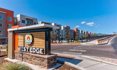 Community Signage, West Edge, 2