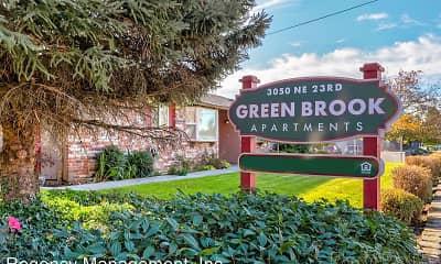 Community Signage, Greenbrook Apartments, 1