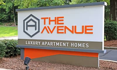 Community Signage, The Avenue Apartments, 1