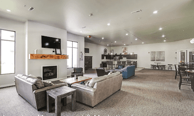 Living Room, North Highlands Luxury Apartments, 2