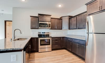 Kitchen, Crossroads at Elm Creek, 1